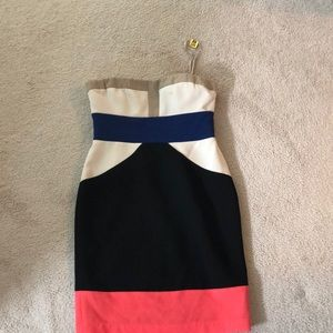 BCBGMAXAZARIA strapless dress